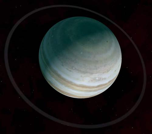 The rings of Jupiter